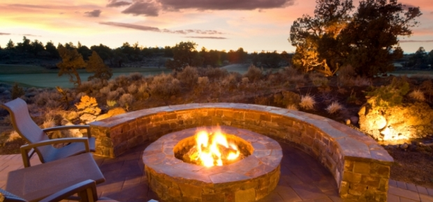 Warm Up Outdoors With Fire Pits