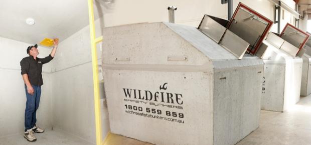 Installing A Fire Bunker