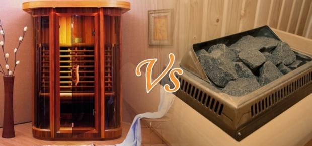 Infrared Saunas Vs Steam Heat Saunas
