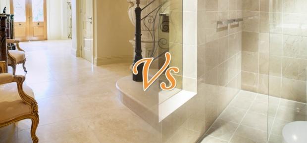 Marble Vs Travertine Tiles