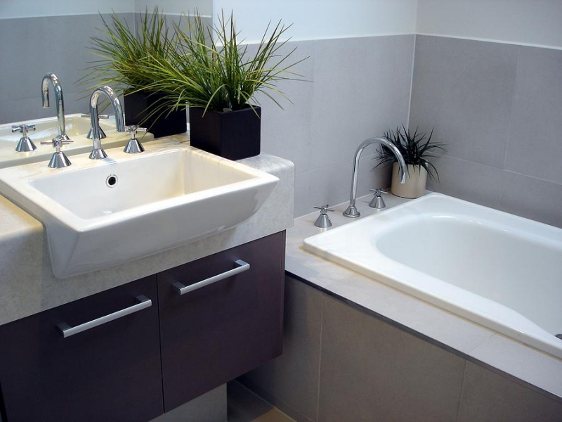 5 steps to a sophisticated bathroom no matter what your - How much does it cost to gut a bathroom ...