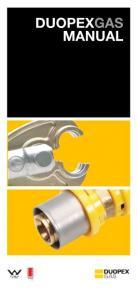 Duopex Gas Manual