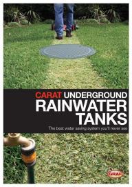 Carat underground Rainwater Tanks