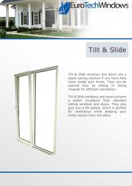 Tilt & Slide Windows & Doors
