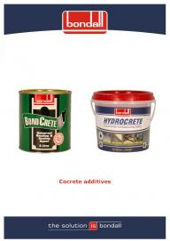 Bondall Concrete Additives