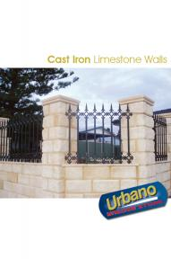 Cast Iron Limestone Walls
