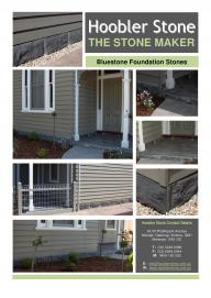Bluestone Foundation stones Brochure