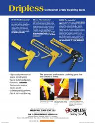 Dripless Caulking Guns