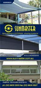 Sunmaster External Shade Systems