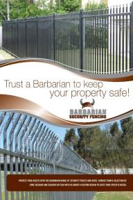Barbarian Security Fencing