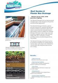 Roof Garden Leaflet