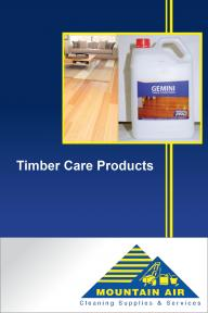 Timber Care Products