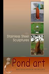 Pond Art - Stainless Steel Sculptures