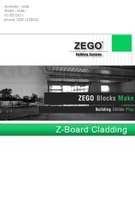 Z-Board Cladding