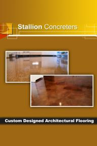 Custom Designed Architectural Flooring