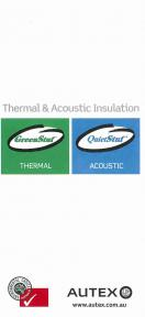 Thermal & Acoustic Insulation