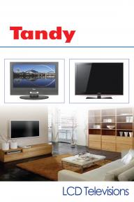 Tandy LCD TVs
