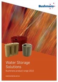 Water Storage Solutions