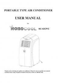 nobo panel heater instructions