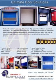 High speed Door solutions