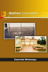 Full Concrete Driveways