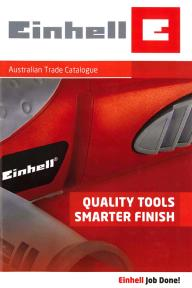 Einhell Quality Trade Tools