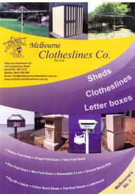 Sheds, Clotheslines & Letter Boxes