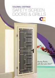 Colonial Castings Safety Screen Doors & Grills