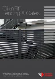 Clik�n�Fit� Fencing, Gates & Privacy Screens
