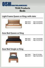 Teak Beds