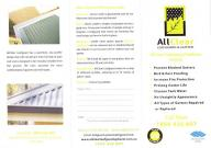 Allclear Product Brochure