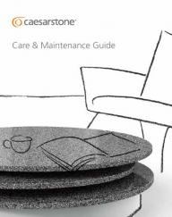 Caesarstone Care & Maintenance