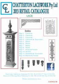 Chatterton Lacework Retail Catalogue 2013