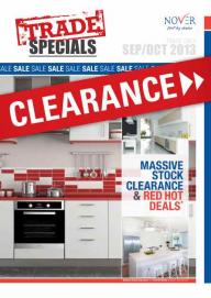 Nover's Latest Trade Specials Brochure