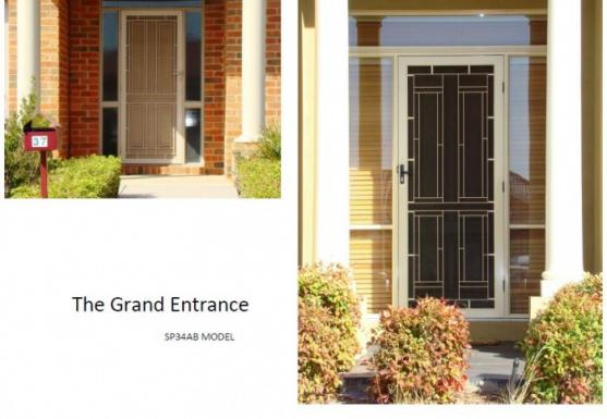 Security Door Designs  by Exclusive Roller Shutters