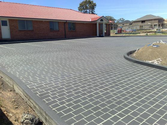 Concrete Driveway Design Ideas driveway fully repaired Driveway Designs By Pfm Concrete