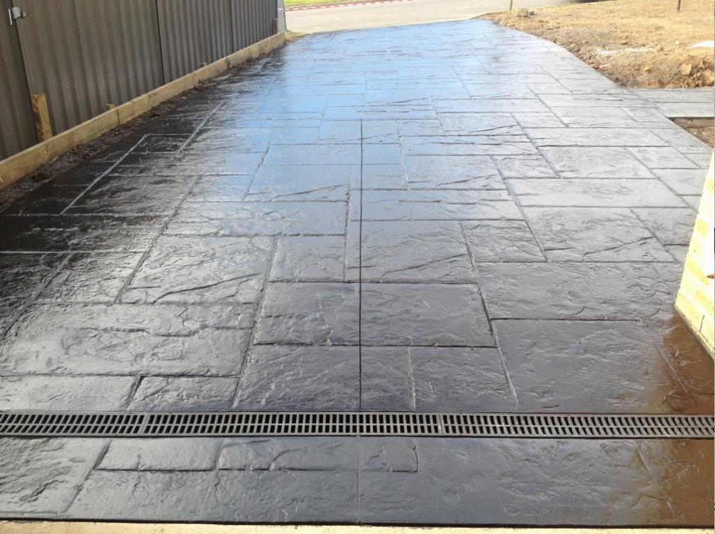 Dekorbeton  FlexCMent Decorative Concrete  Stamped