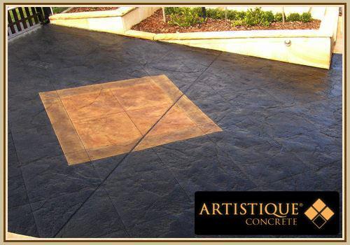 Driveway Designs by Artistique Concrete