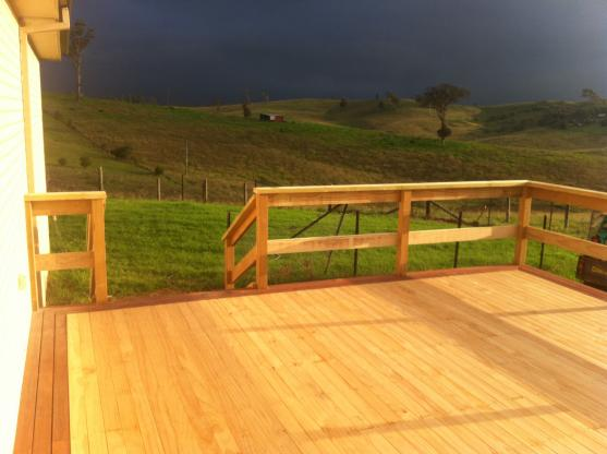 Elevated Decking Ideas by Port 2 Port Constructions Pty Ltd