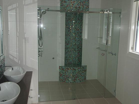 Shower Design Ideas by Ocean Blue Glass