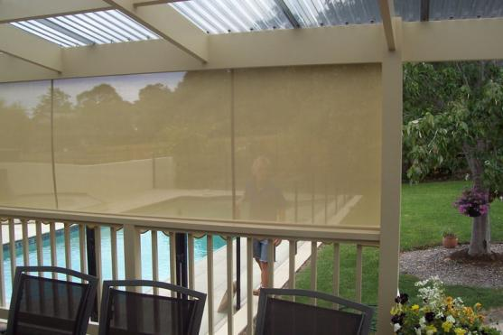 Roller Blind Designs by Gippsland Outdoor Blind Company