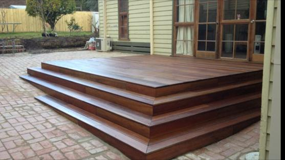 Elevated Decking Ideas by SS Carpentry Contruction Company