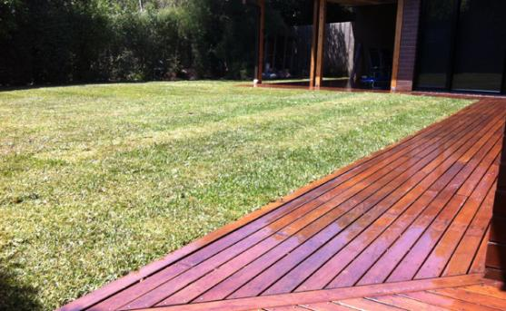 Composite Decking Designs by icon landscaping