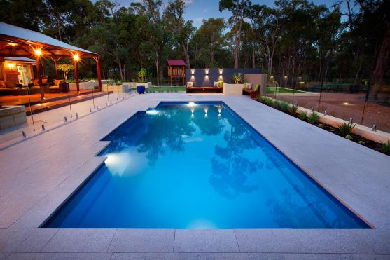 Pool Lights Ideas by Stewart Pools