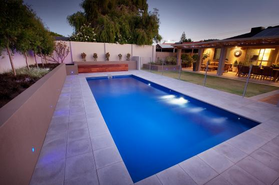 Lap Pool Designs by Stewart Pools