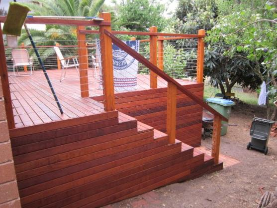Elevated Decking Ideas by ivans carpentry