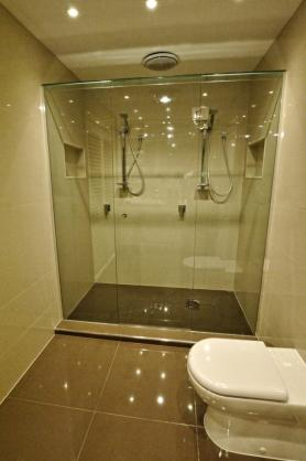 Shower Design Ideas by No Worries Glass