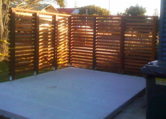 Timber Fencing Designs by Clarence Carpentry and Maintenance