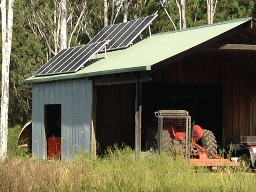 Off Grid Solar Carport : Off grid solar kits servicing qld nsw hanan