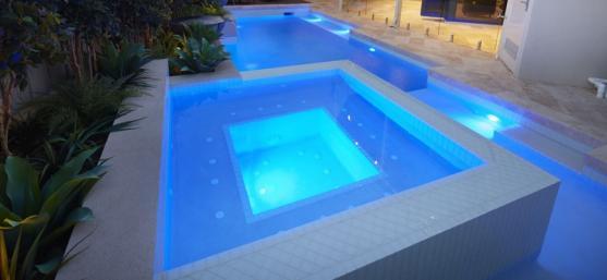 Pool Lights Ideas by Jubilee Tiles
